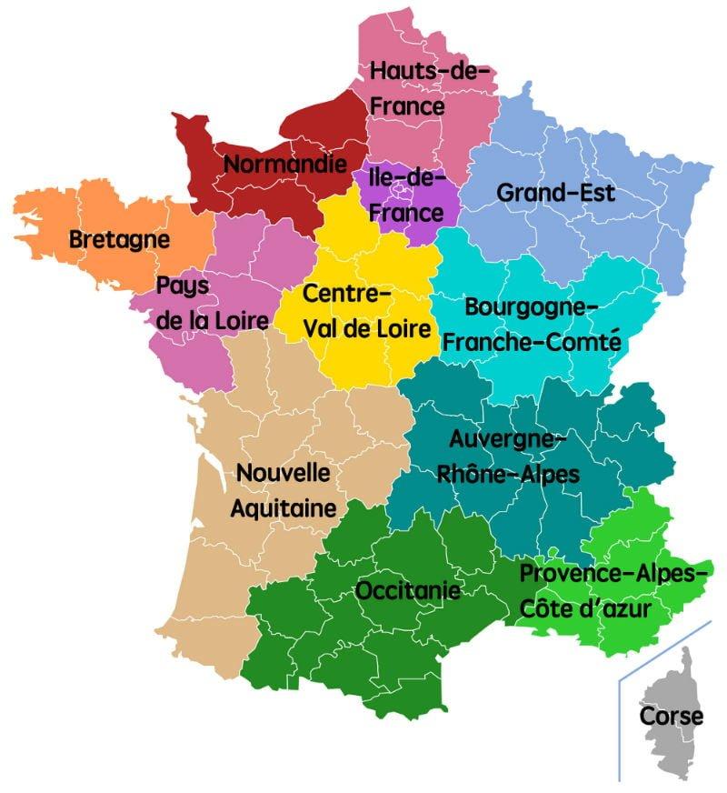 Carte grise par Région 1